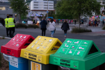 HighLight: Carnival of Lights rubbish bins