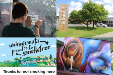 Smokefree areas in Wainuiomata