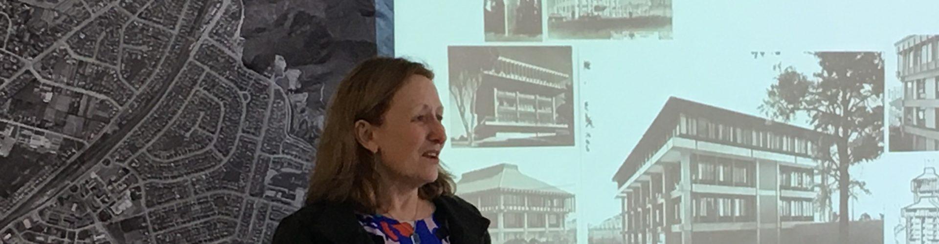 City Archivist Jennie Henton