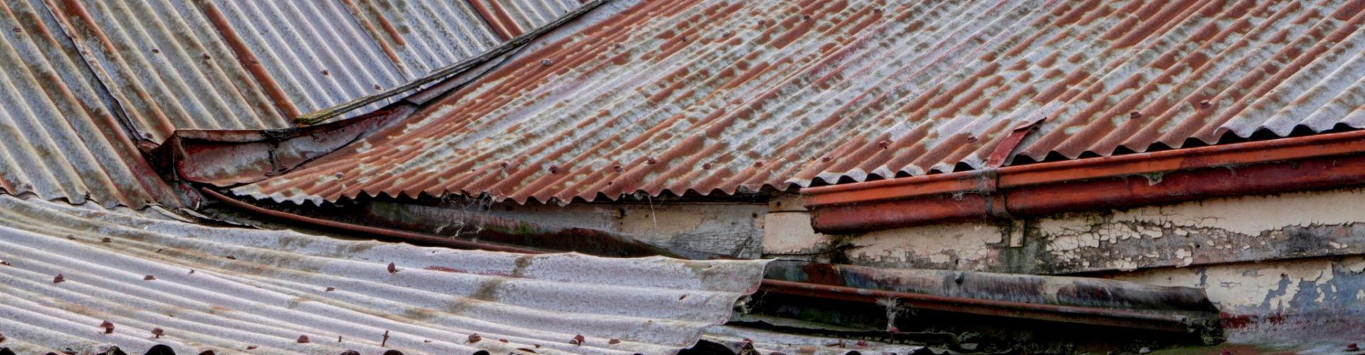 Poor roofing iron