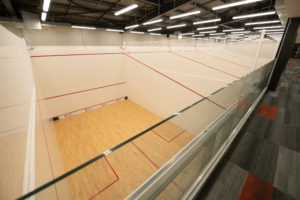 New Squash Courts at the Ricoh Sports Centre