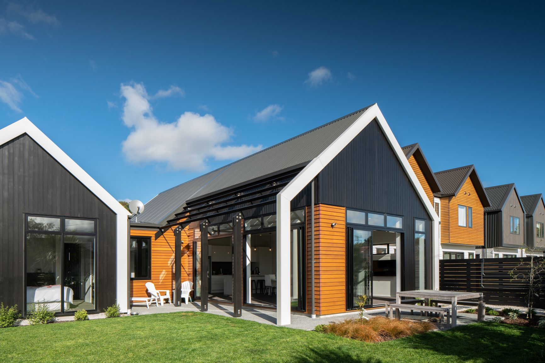Four bedroom house at the Fairfield Waters development by Urban Plus