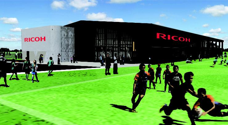 Artist impression of the Ricoh Fraser Park Sportsville