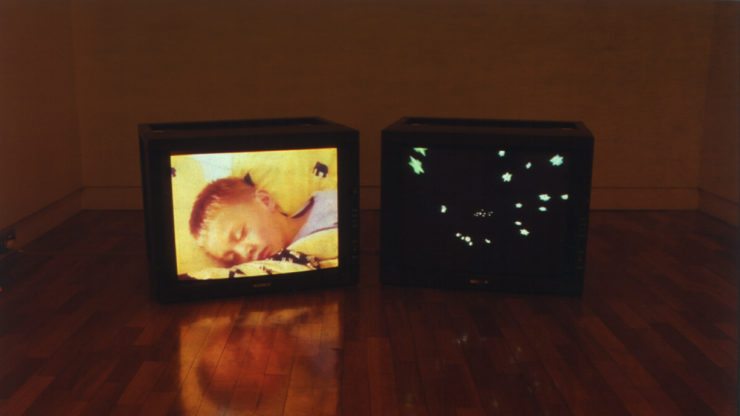 Nathan Pohio, Sleeper, 1999, Two-Channel Video