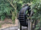 Percy Scenic Reserve newly refurbished water wheel