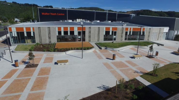 Walter Nash Centre in Taita
