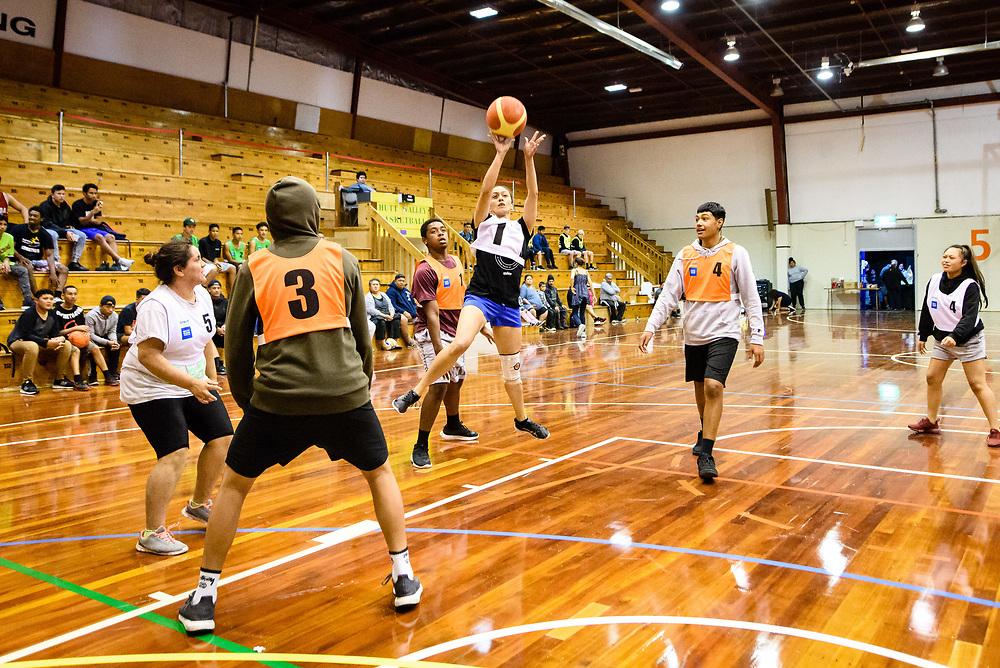 Twilight basketball at Walter Nash