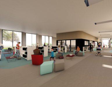 Interior Impression Naenae community hub