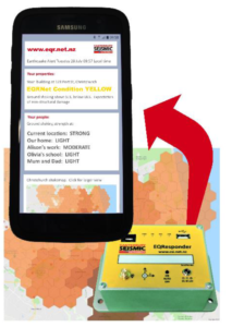 Earthquake Response Management App