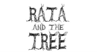 Title frame from the short film Rata and the Tree
