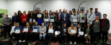 Graduates from the YOUth Inspire programme
