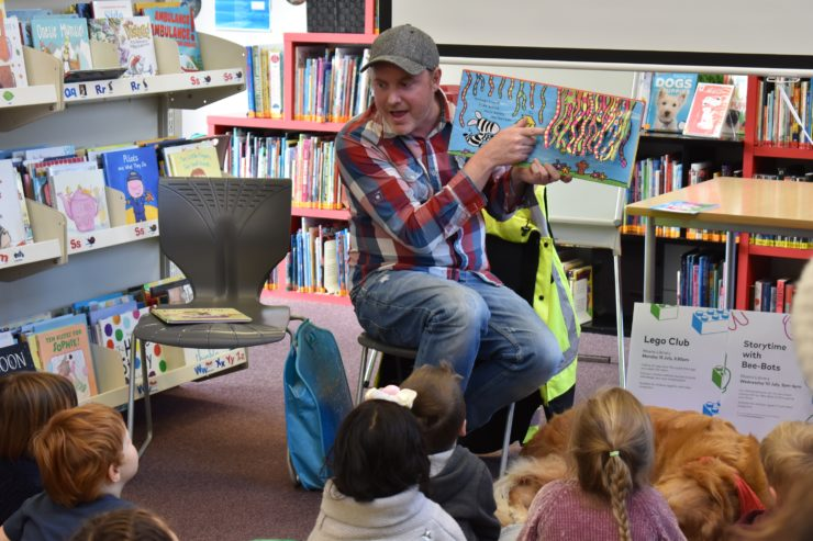 Animal Storytime at Moera Library