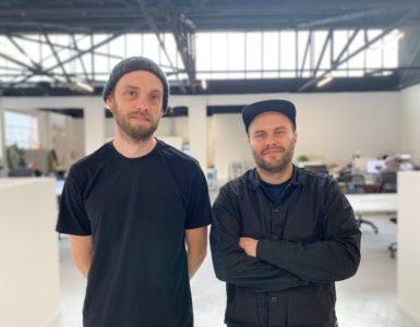 Doug Johns and Jonny Calder Stacker Brewer