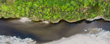 Te Awakairangi - The Hutt River, birds eye view