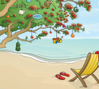 Summer Christmas Beach
