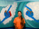 LOWER HUTT, NEW ZEALAND - March 15: Claudia Kogachi: There's No I in Team – Artist Talk March 15, 2020 Dowse Art Museum in Lower Hutt, New Zealand. (Photo by Mark Tantrum/ http://marktantrum.com)