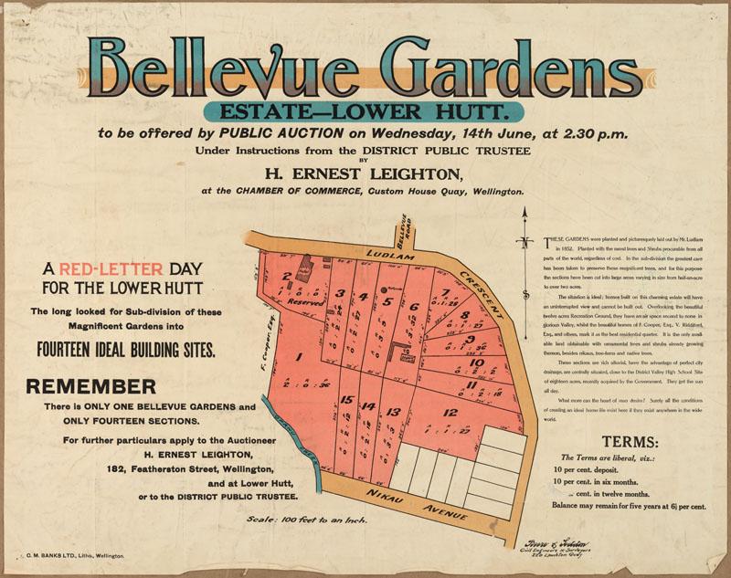 Mason's Garden Brochure