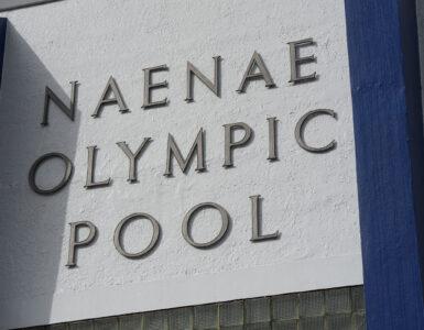 Naenae Olympic Pool sign